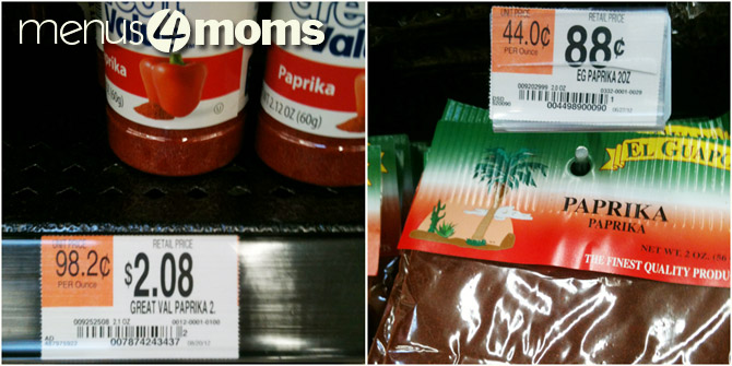 The Secret To Saving On Spices Menus4moms